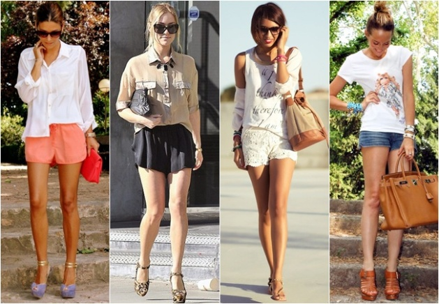 Shorts are Fashionable to Wear in the Summer