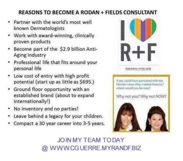 R+F join my team
